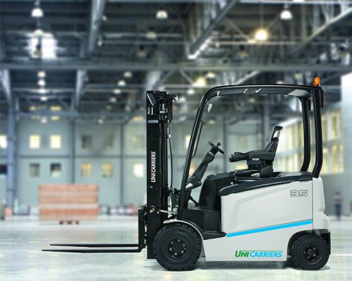 UniCarriers MX25 Electric 4-wheel forklift www.staplertechnik.at