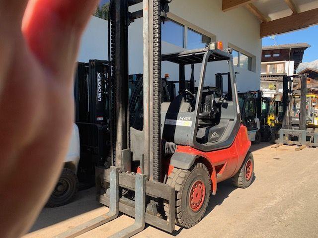 Linde H45T-04 LPG Forklifts www.staplertechnik.at