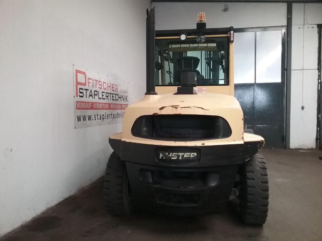 Hyster H8.0-FT6 Diesel Forklift www.staplertechnik.at