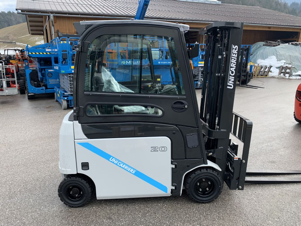 UniCarriers TX4-20L Electric 4-wheel forklift www.staplertechnik.at