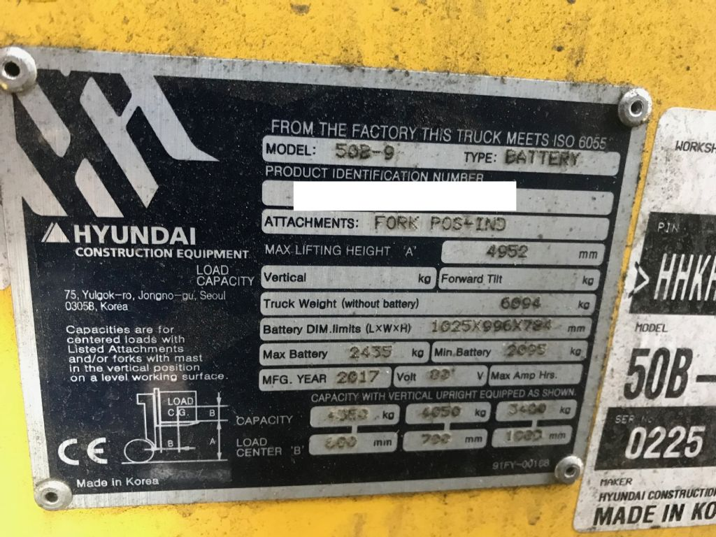 Hyundai-50B-9-Elektro 4 Rad-Stapler-www.staplertechnik.at