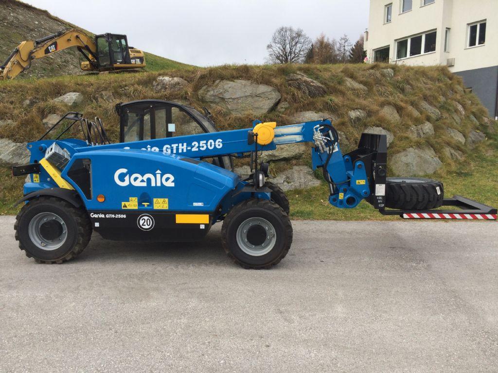 Genie-GTH 2506-Teleskopstapler starr-www.staplertechnik.at