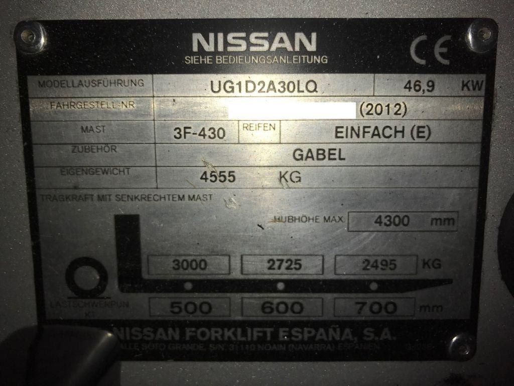 Nissan-NISSAN DX 30-Treibgasstapler-www.staplertechnik.at