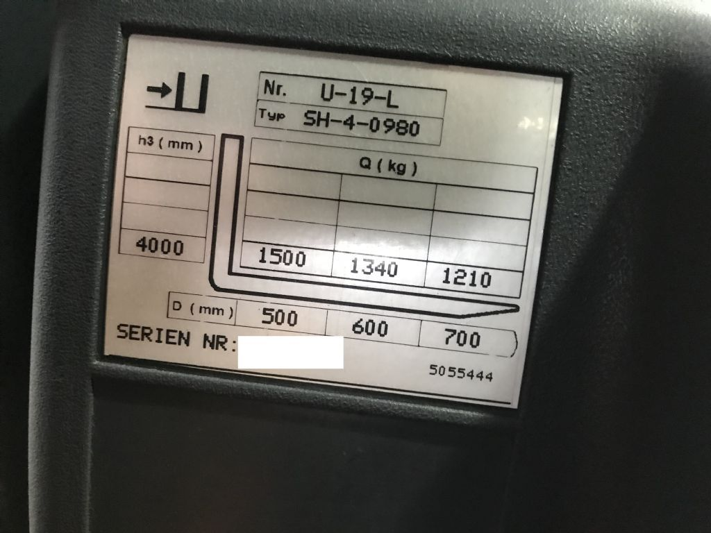 Jungheinrich EFG DFac 15 Electric 3-wheel forklift www.staplertechnik.at