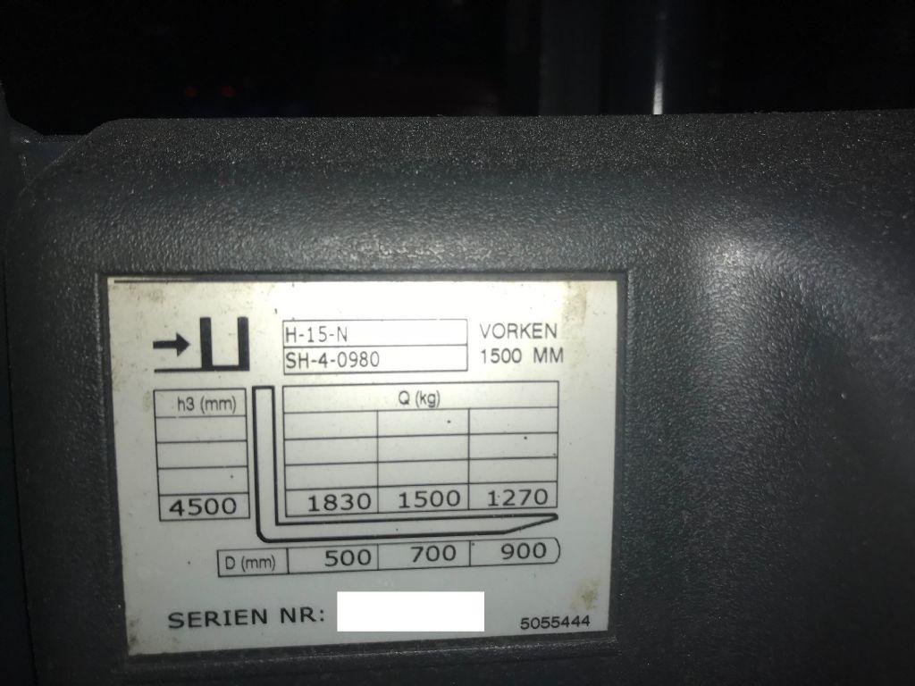 Jungheinrich-EFG 220-Elektro 4 Rad-Stapler-www.staplertechnik.at