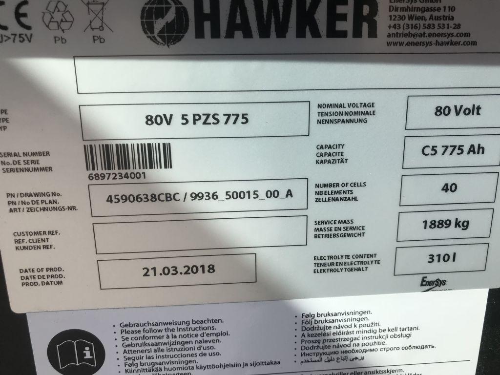 UniCarriers-QX 2-25L-Elektro 4 Rad-Stapler-www.staplertechnik.at