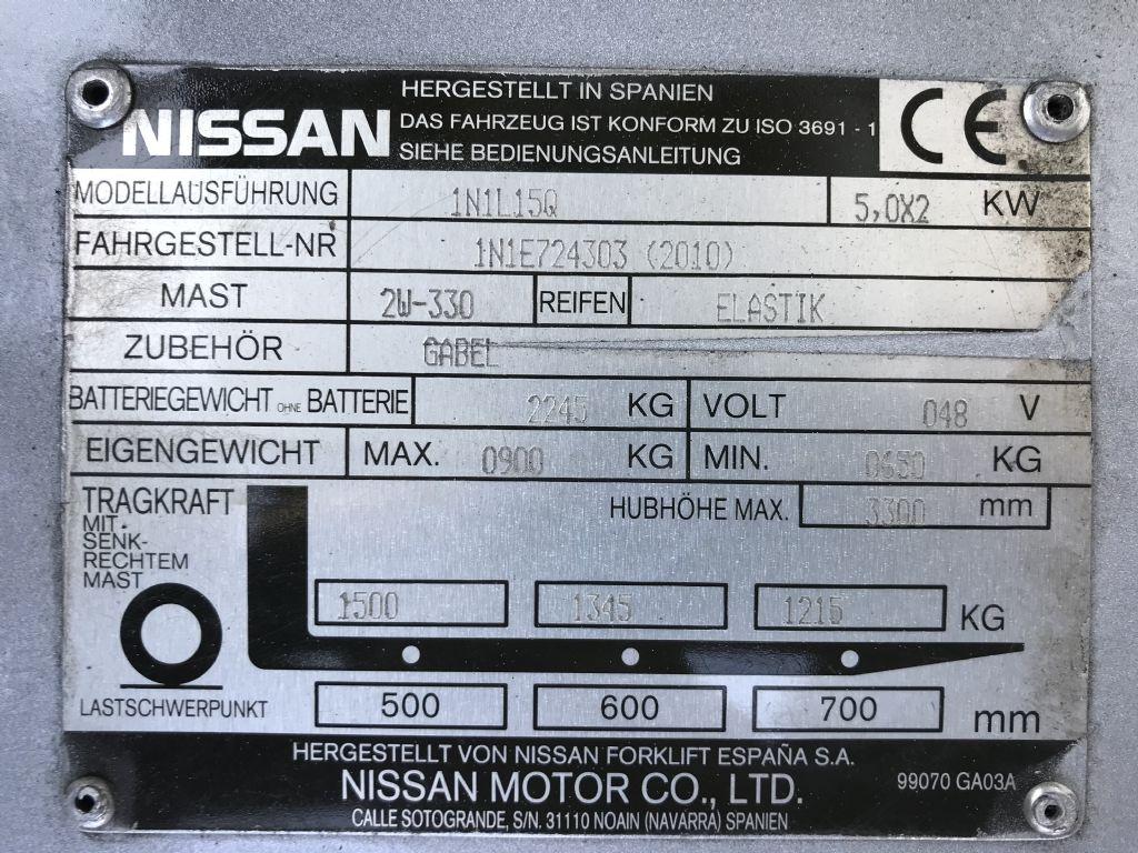 Nissan-1N1L15Q-Elektro 3 Rad-Stapler-www.staplertechnik.at