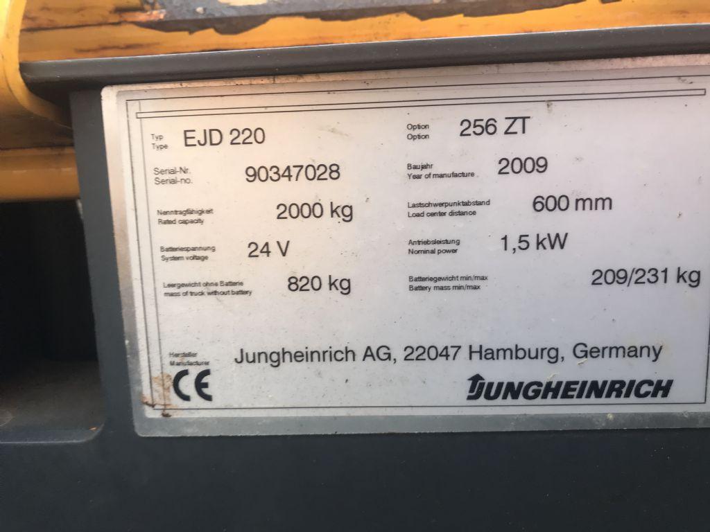 Jungheinrich-EJD 220-Hochhubwagen-www.staplertechnik.at