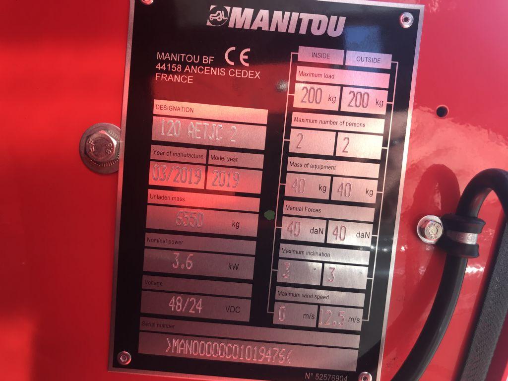 Manitou-120 AETJC 2-Gelenkteleskopbühne-www.staplertechnik.at