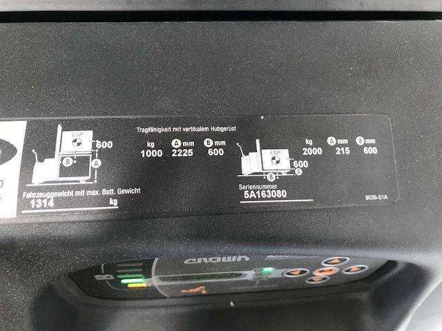 Crown-DT3000-Hochhubwagen-www.staplertechnik.at
