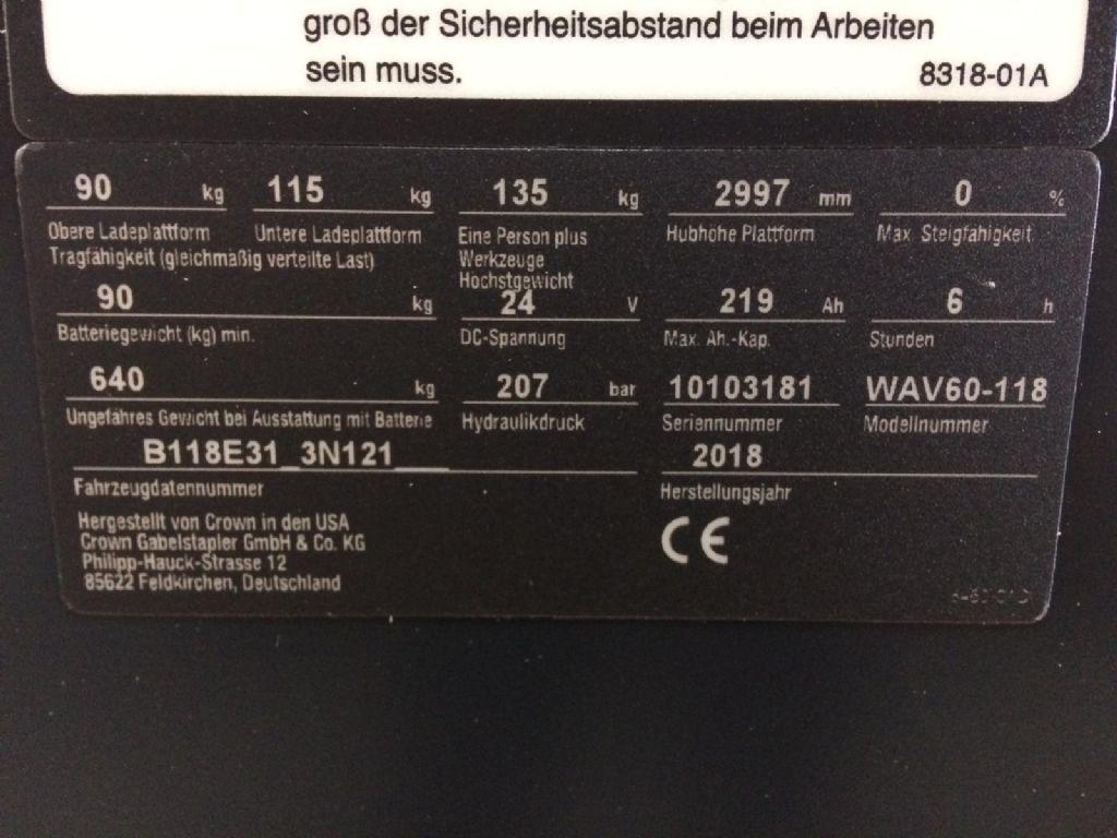 Crown-Wave 60-118-Hochhubkommissionierer-www.staplertechnik.at