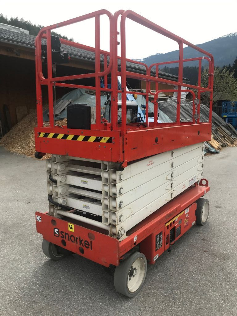 Snorkel S3246E Scissor Lifts www.staplertechnik.at