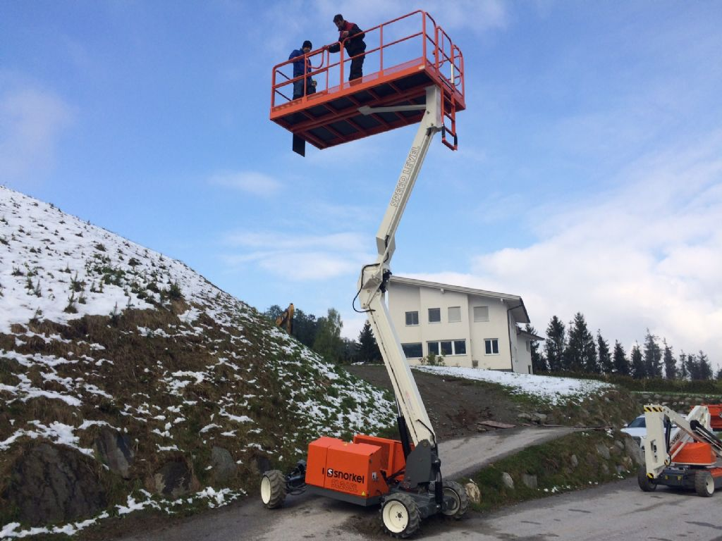 Snorkel SL30SL Scissor Lifts www.staplertechnik.at