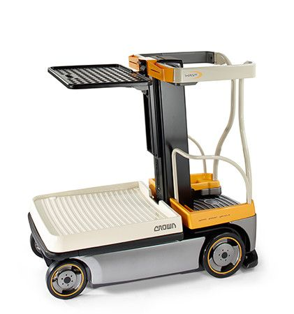 Crown WAV60-118 Medium Lift Order Picker www.staplertechnik.at