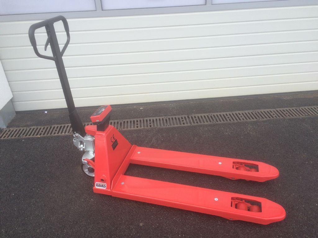 Ravas Ravas - 1100 mit Waage Hand Pallet Truck www.staplertechnik.at