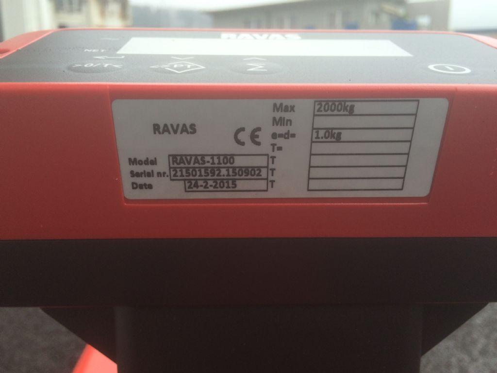 Ravas-Ravas - 1100 mit Waage-Handhubwagen-www.staplertechnik.at