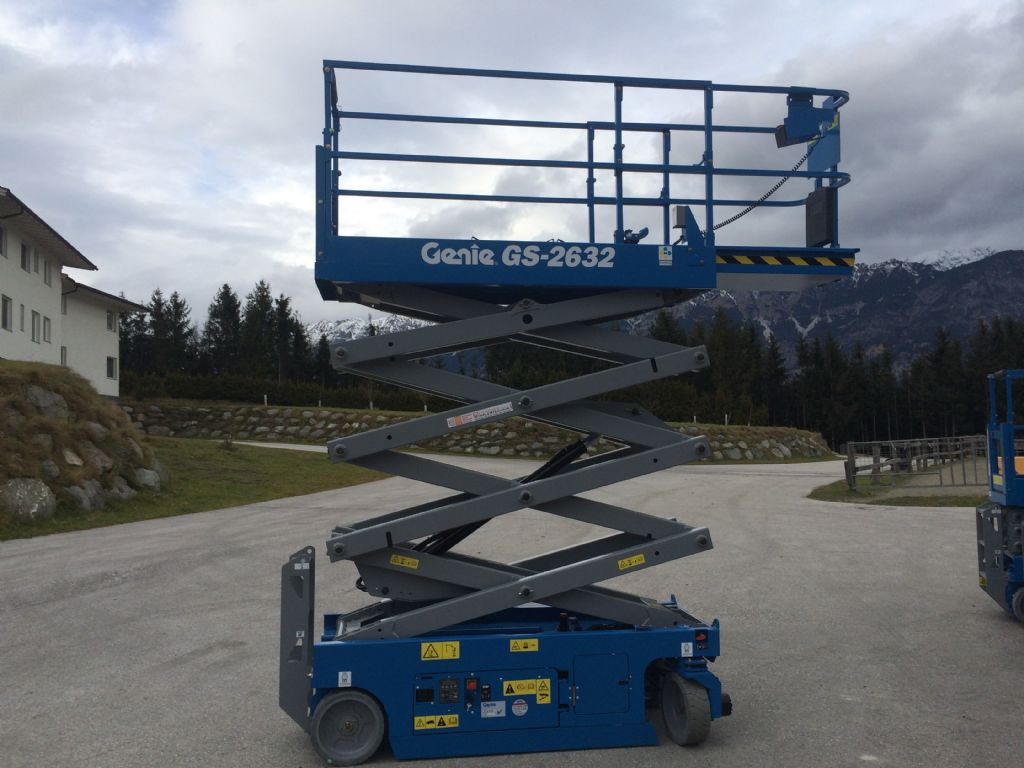 Genie GS 2632 (code 15500) Scissor Lifts www.staplertechnik.at