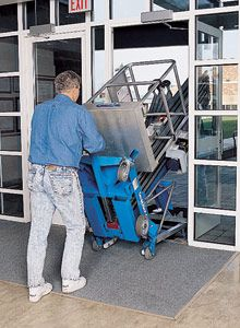 Genie AWP 20S  bis  AWP 40S Vertical / Personnel Lifts www.staplertechnik.at
