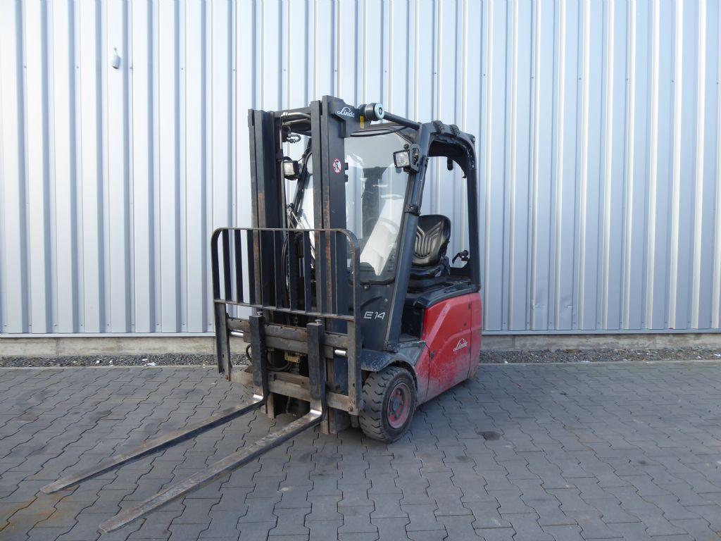 Linde-E14-01-Elektro 3 Rad-Stapler-www.rf-stapler.de