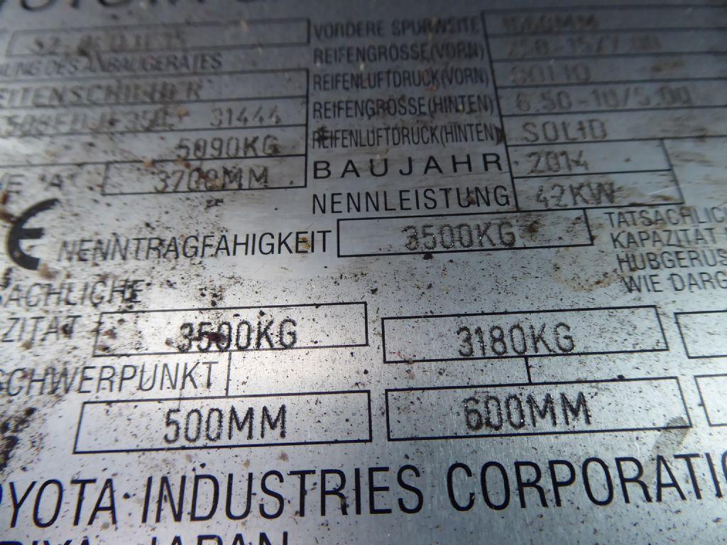 Gebrauchtstapler-Toyota-Toyota 52-8FDJF35-Dieselstapler-www.rf-stapler.de
