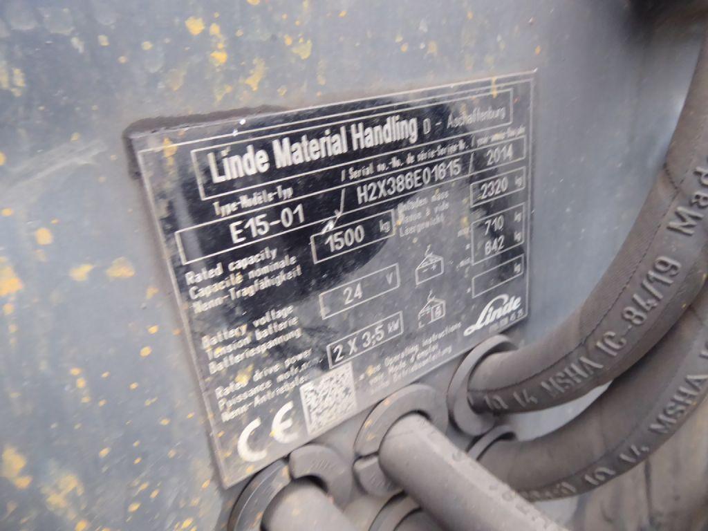 Gebrauchtstapler-Linde-E15-01-Elektro 3 Rad-Stapler-www.rf-stapler.de