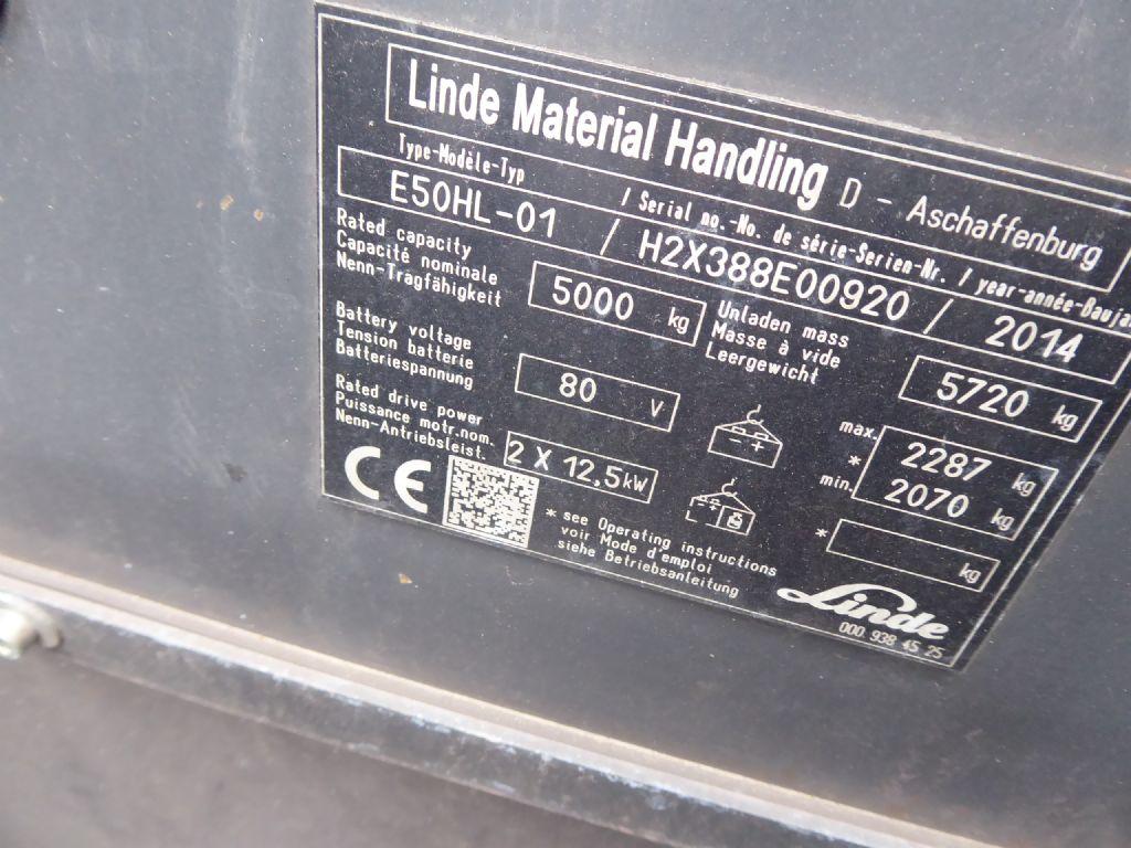 Gebrauchtstapler-Linde-E50HL-01-Elektro 4 Rad-Stapler-www.rf-stapler.de