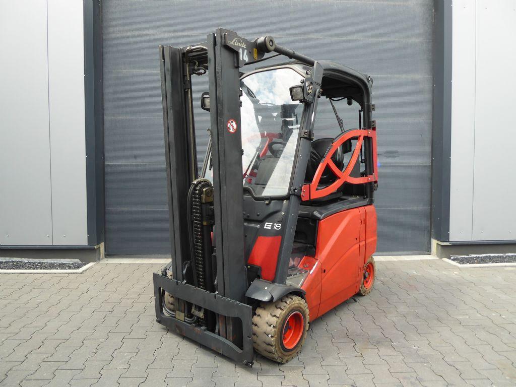 Linde-E18PH-01-Elektro 4 Rad-Stapler-www.rf-stapler.de