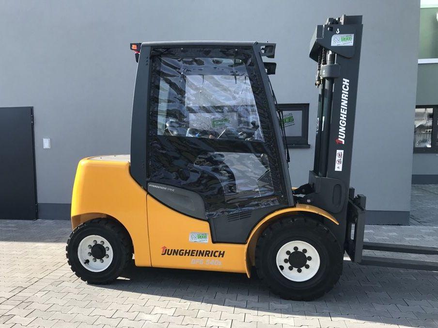 Jungheinrich DFG 540s SP GE120-350ZT *Generalüberholt* Dieselstapler www.roos-gabelstapler.de