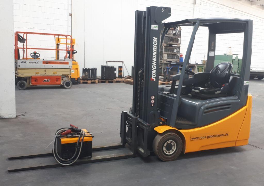 Jungheinrich EFG 216k  Elektro 3 Rad-Stapler www.roos-gabelstapler.de