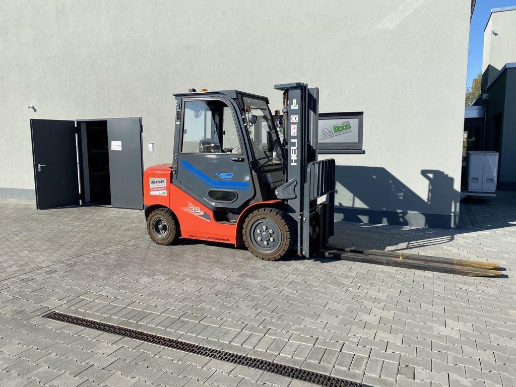 Heli CPCD35 W15H Dieselstapler www.roos-gabelstapler.de