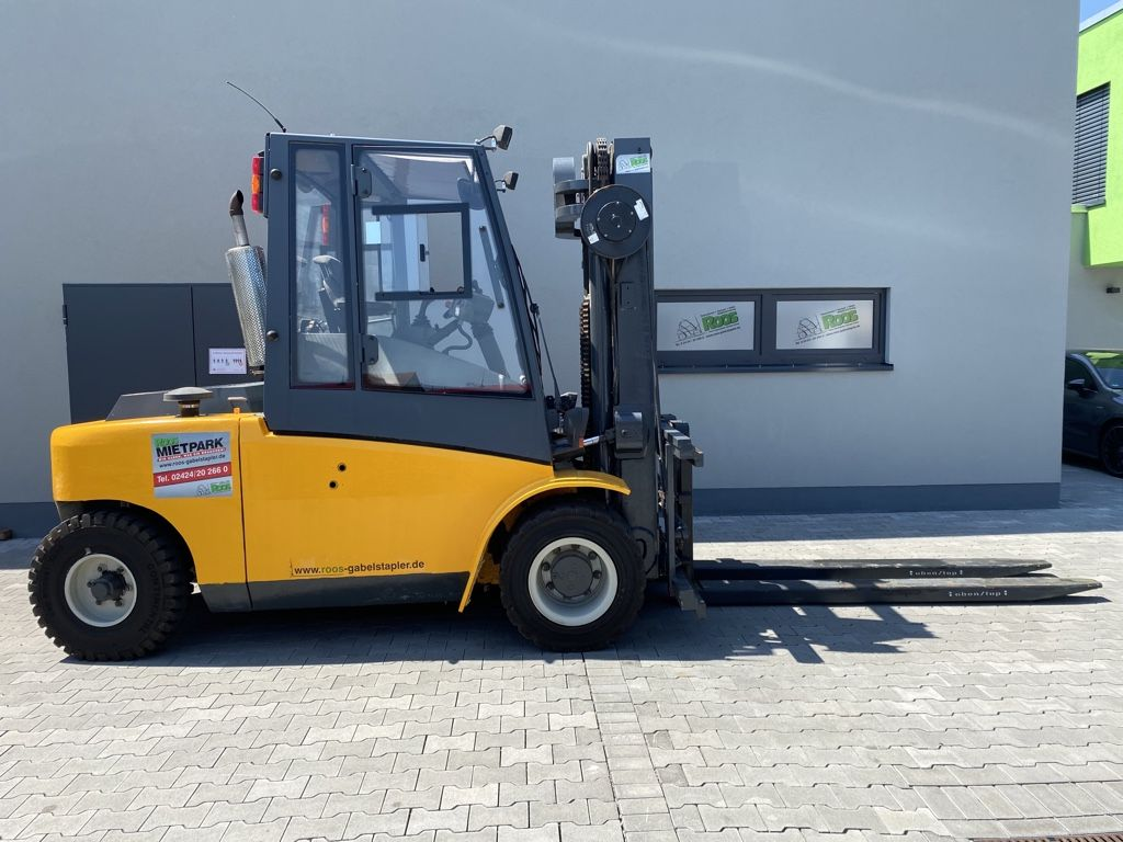 Jungheinrich DFG680 ZVG G120-450 Dieselstapler www.roos-gabelstapler.de