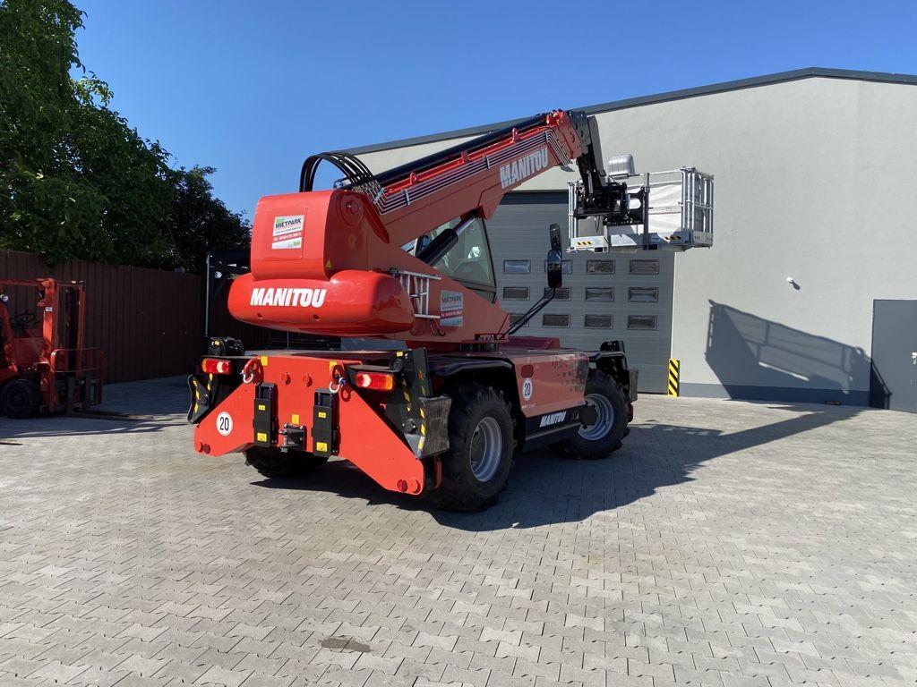 Manitou MRT 2145 Easy 75P 360 ST451 360° Teleskopstapler drehbar www.roos-gabelstapler.de