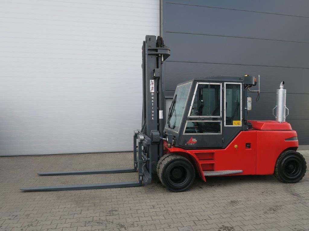 Dan Truck-9690DD - TRIPLEX-Schwerlaststapler-http://www.sago-online.com