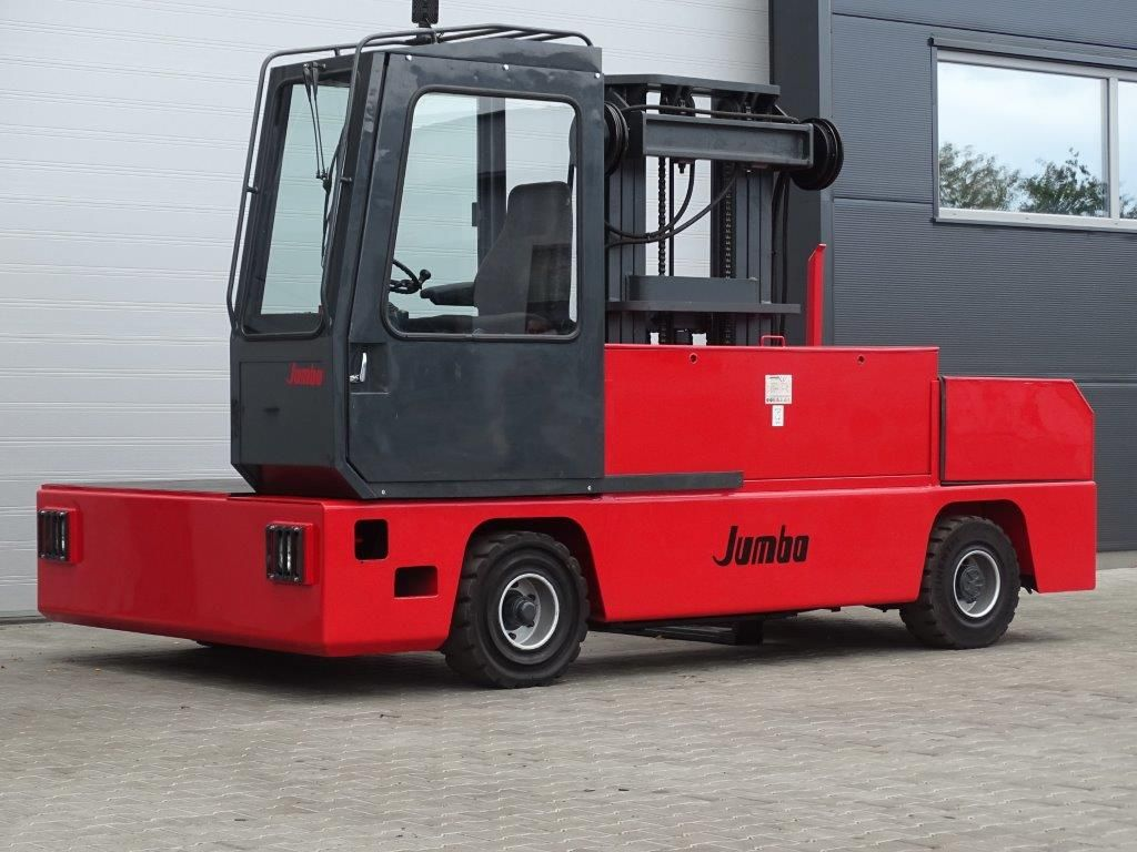 Jumbo-J/SNE 40/16/50TV - ELEKTRO- TRIPLEX-Elektro Seitenstapler-www.kloz-stapler.de