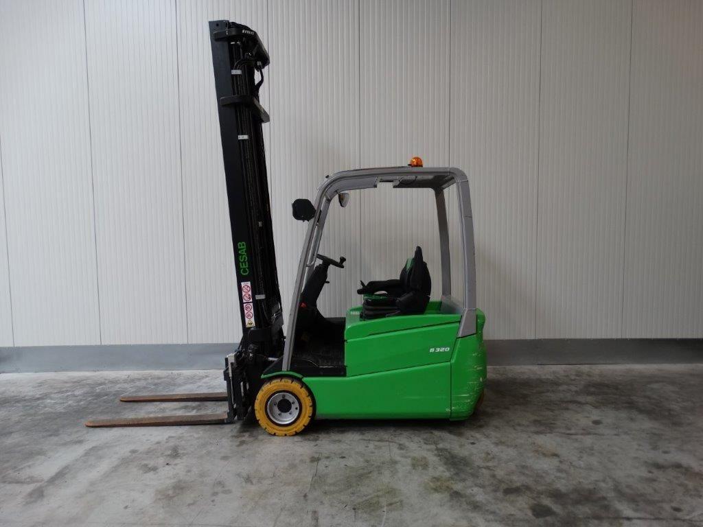 Cesab-B320 TRIPLEX-Elektro 3 Rad-Stapler-http://www.sago-online.com