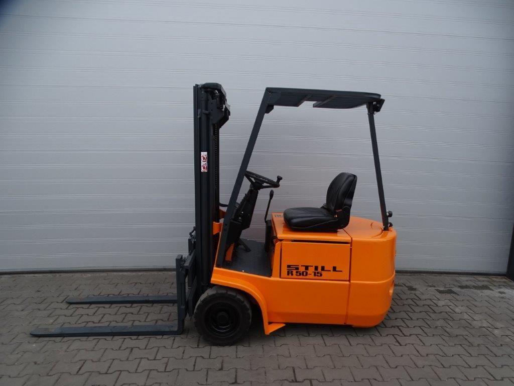 Still-R50-12 / EFG1.2/5003-Elektro 3 Rad-Stapler-http://www.sago-online.com