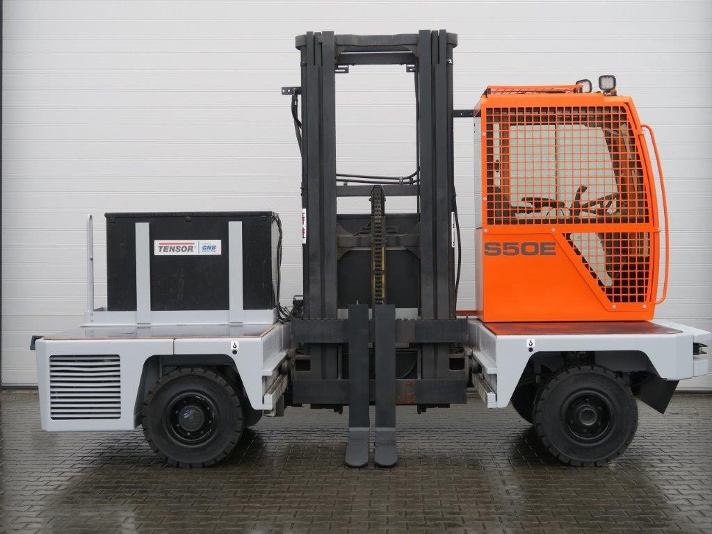 Hubtex-S50E - TRIPLEX - ELECTRO-Elektro Seitenstapler-http://www.sago-online.com