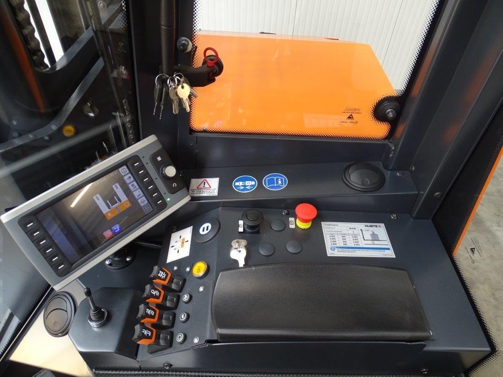 Hubtex-DQX45-D - TRIPLEX - Russfilter - NEU-Vierwege Seitenstapler-www.kloz-stapler.de