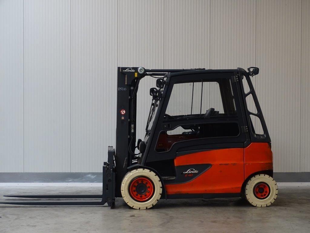 Linde-E40HL-01/600 TRIPLEX-Elektro 4 Rad-Stapler-http://www.sago-online.com
