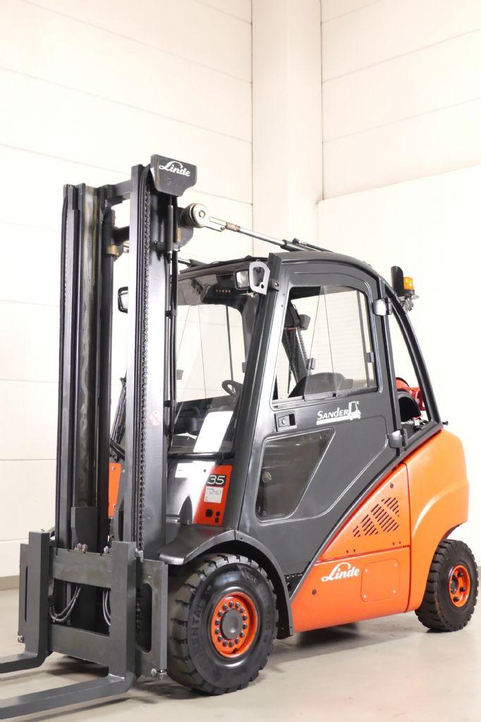 Linde-H 35 T 393-LPG Forklifts www.gebraucht-stapler.de
