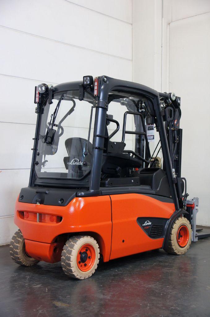 Beliebt Bevorzugt Gebraucht Linde E 20 PL EVO 386-02 Elektro 4 Rad-Stapler   Sander &WT_14