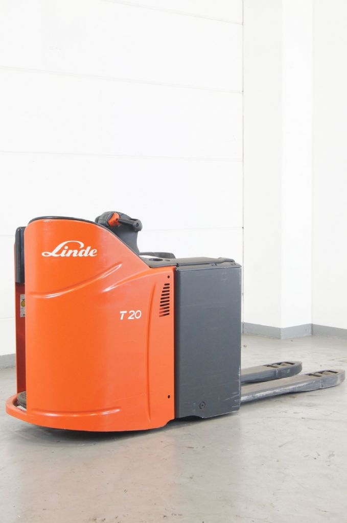 Linde-T 20 SP-Niederhubwagen www.gebraucht-stapler.de