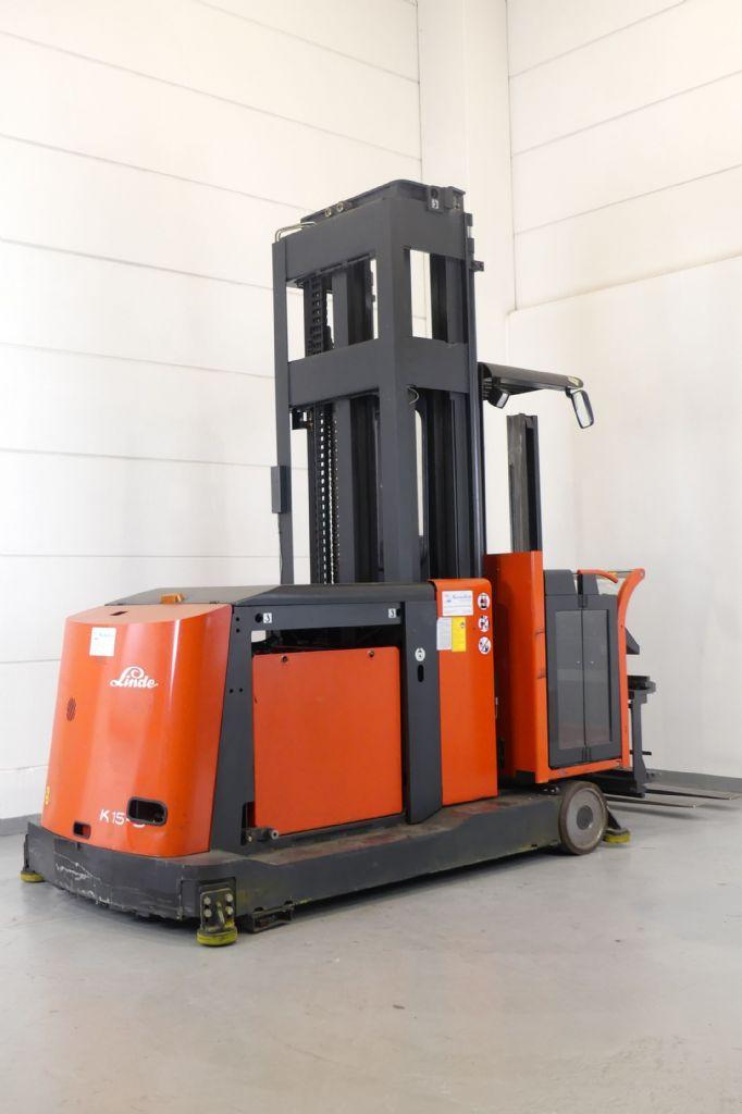 Linde-K 15-3-Hochhubkommissionierer www.gebraucht-stapler.de