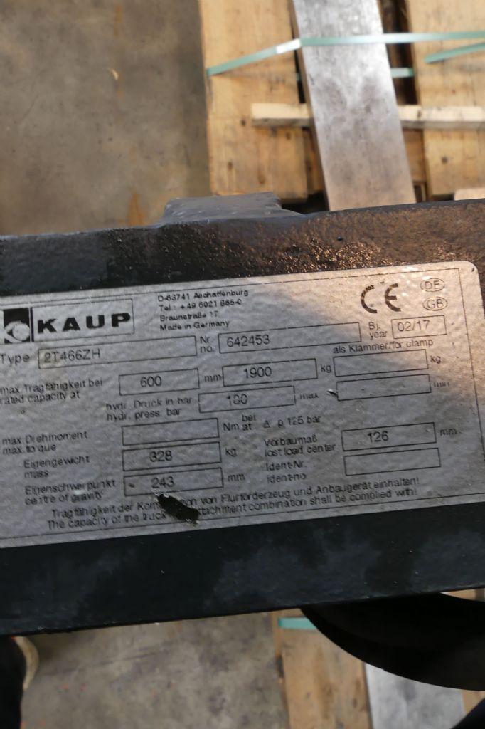 Kaup-2T466ZH-Zinkenverstellgerät gebraucht-stapler.de