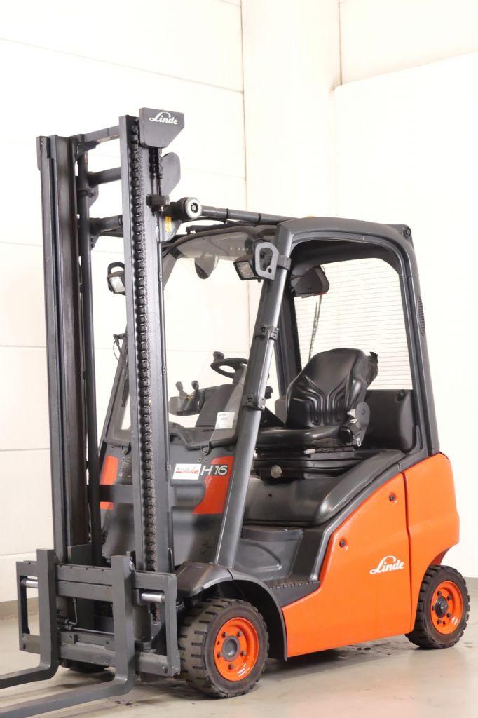 Linde-H 16 D 391-Diesel Forklift www.gebraucht-stapler.de