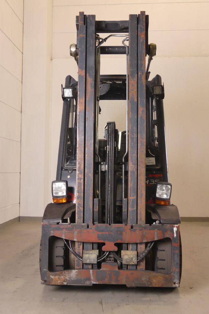 Linde-H 35 T 393-Treibgasstapler www.gebraucht-stapler.de