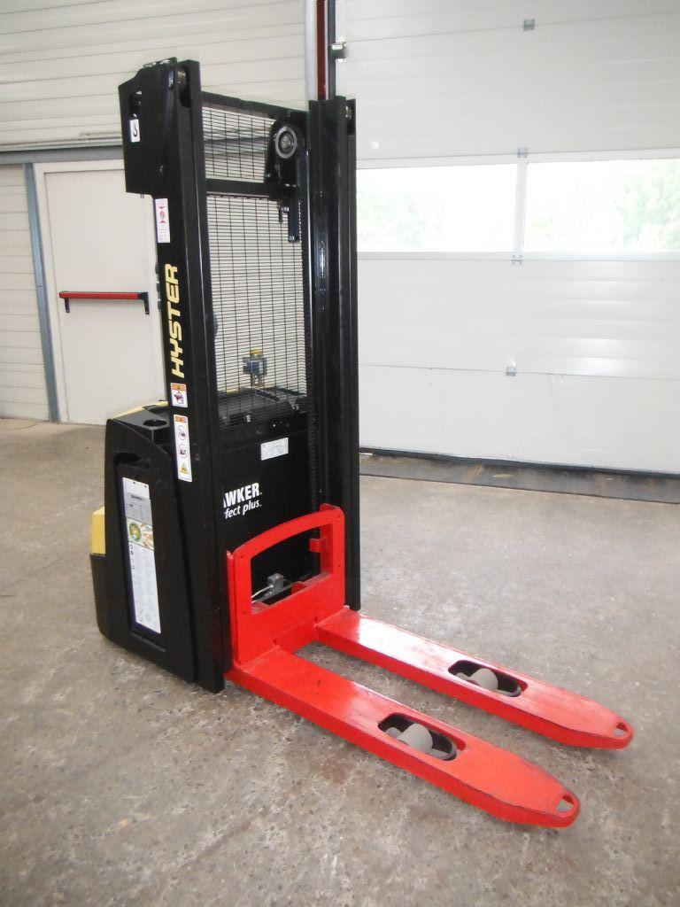 Hyster S1.2 Deichselstapler www.schischke-conrads.de