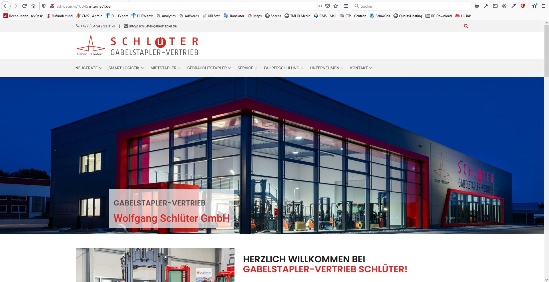 Gabelstapler-Vertrieb Wolfgang Schlüter GmbH