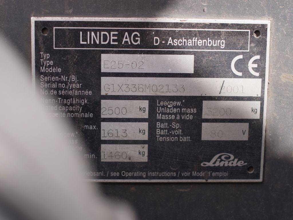 Linde-E 25-02-Elektro 4 Rad-Stapler-www.gabelstapler-schmidt.de