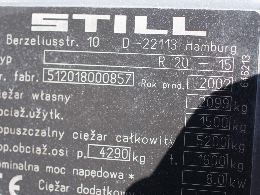 Still-R20-15-Elektro 3 Rad-Stapler-www.gabelstapler-schmidt.de